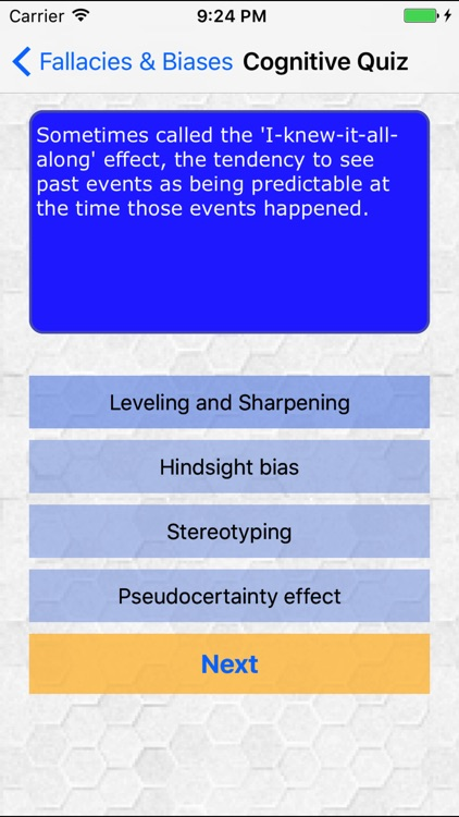 Fallacies and Biases screenshot-3