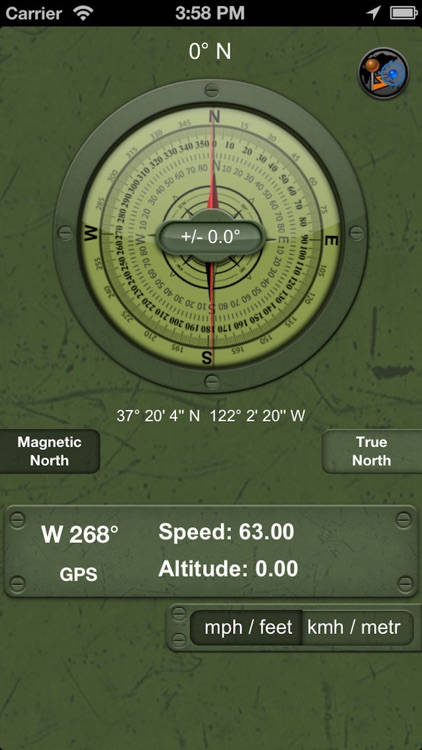 Military Compass+ Lite screenshot-2