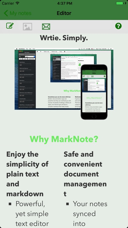 MarkNote - Take Notes with Markdown