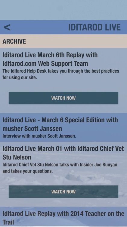 Iditarod® The Official App screenshot-2