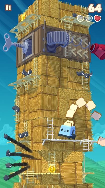 Twisty Sky - Endless Tower Climber screenshot-3