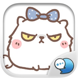 Moody the Angry Cat Stickers for iMessage Free