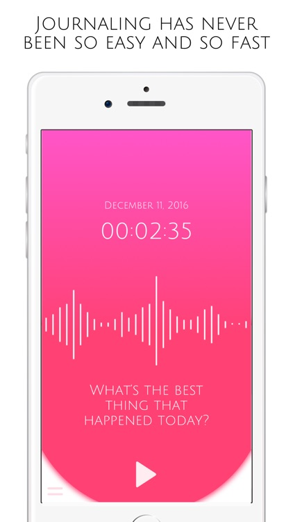 Voice Journal For Adults With Passcode