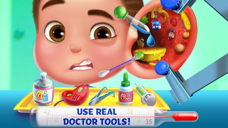 Kids Emergency Doctor - Stay in Bed