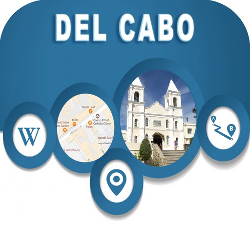 San Jose del Cabo Mexico Offline City Map Navigate