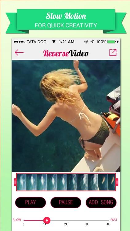 Reverse Video Editor Pro-Rewind,Cutter & Add Music