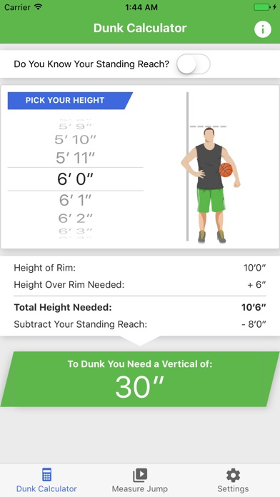 Screenshot for What's My Vertical? in United States App Store