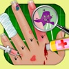 Kid's hand Doctor - free makeover and spa games.