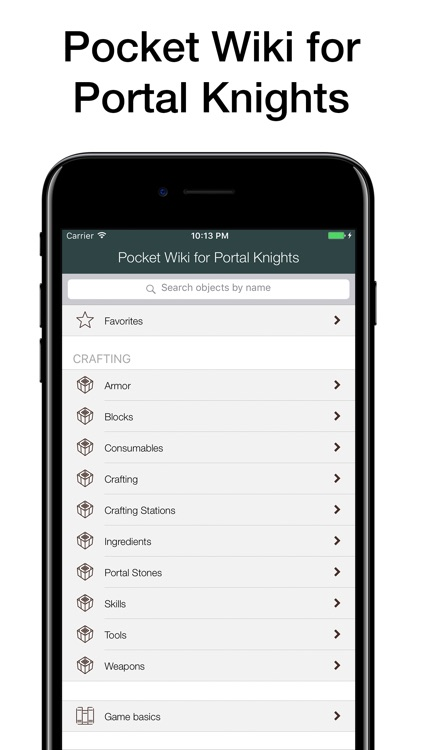 Pocket Wiki for Portal Knights