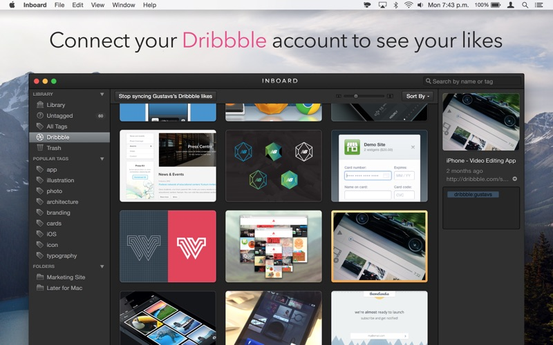 Inboard - Image Organizer Screenshots