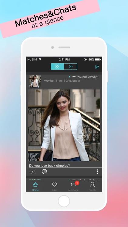 mobil dating app Indien