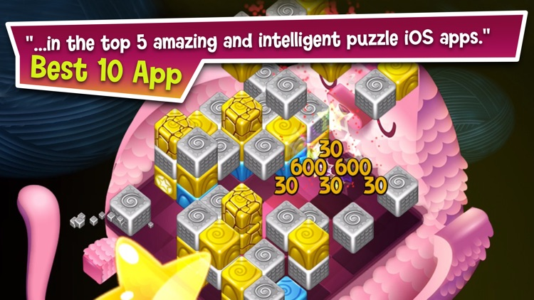 Cubis Creatures: Match 3 Games screenshot-4