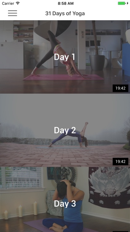 31 Days of Yoga - Yoga Poses, Videos & Meditation
