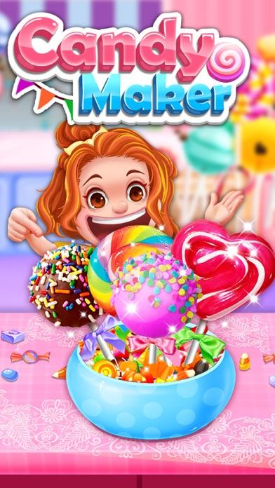 Candy Maker - Sweet Desserts Lollipop Making Games screenshot three