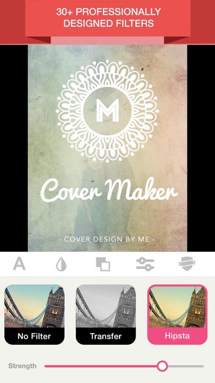 Cover Maker- Book Creator & Magazine Cover maker screenshot-4