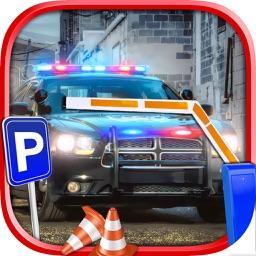 Police Car - Parking Simulator
