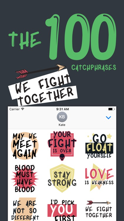 Catchphrases of The 100