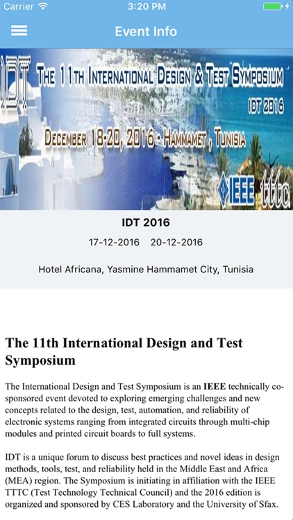 IDT 2016 screenshot-0