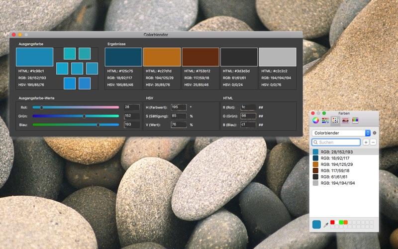 Colorblender скриншот программы 1