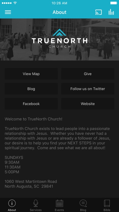 TrueNorth Church App screenshot 1