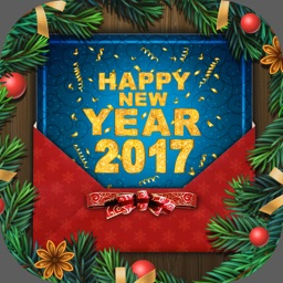 Happy New Year 2017 - Greeting Card Maker