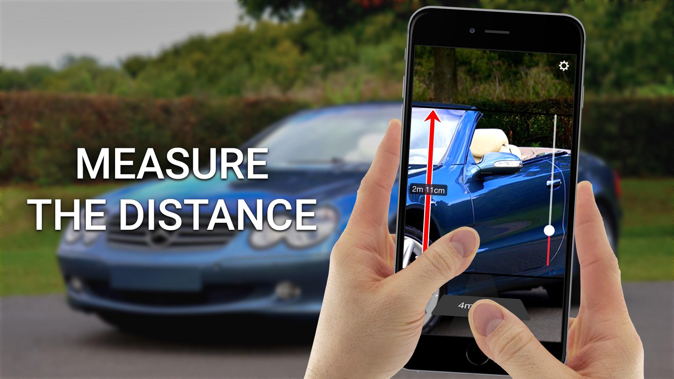 Distance Measure - Phone Range Meter Screenshot