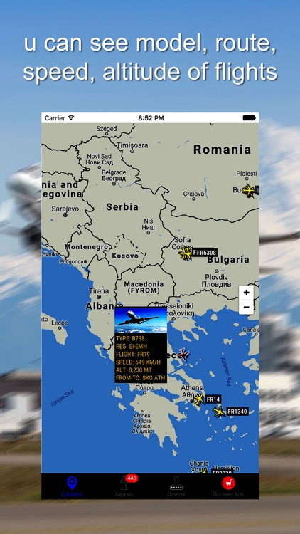 Radar For Air France screenshot-1