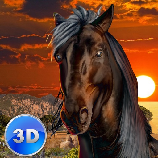 Wild African Horse: Animal Simulator 2017 Full icon