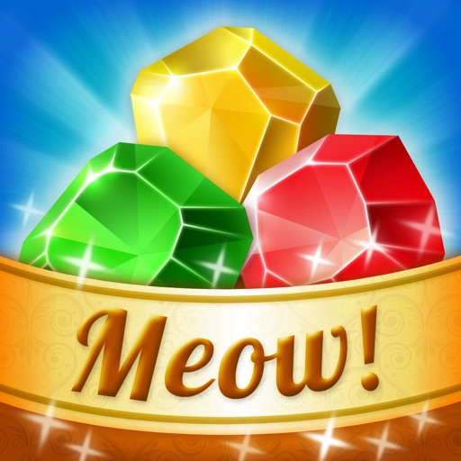 Meow Tales - Jewel Match 3 Mania icon