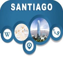 Santiago Chile Offline City Maps with Navigation