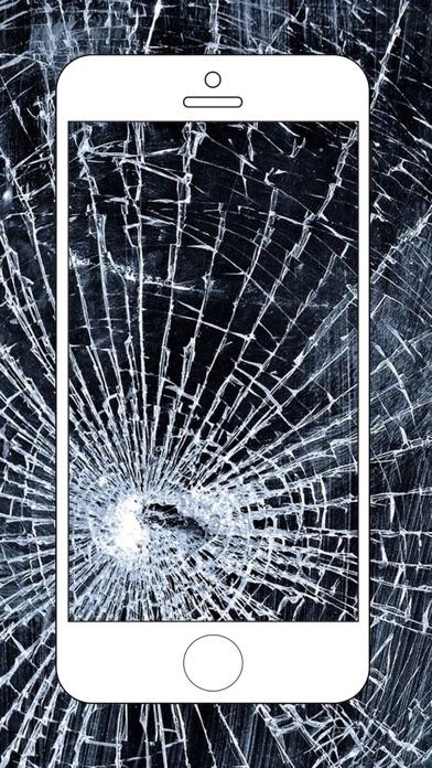 Broken Screen Wallpaper Prank - Cracked Break app image