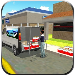 Milk Van Delivery Simulator & Minivan Driving