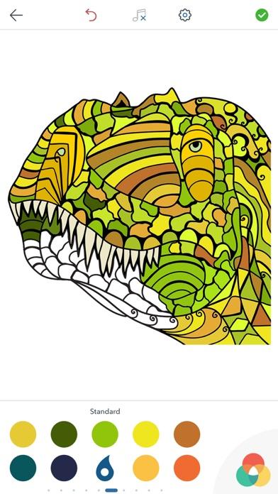Juegos de Colorear DinosauriosCaptura de pantalla de2