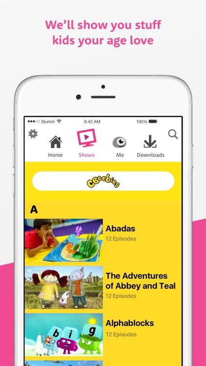 BBC iPlayer Kids screenshot-3