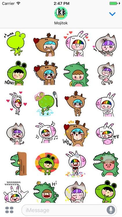 Animalhood Friends Animated Stickers