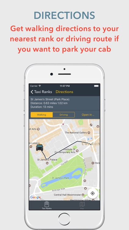 Taxi Ranks London - Public Transport London screenshot-2