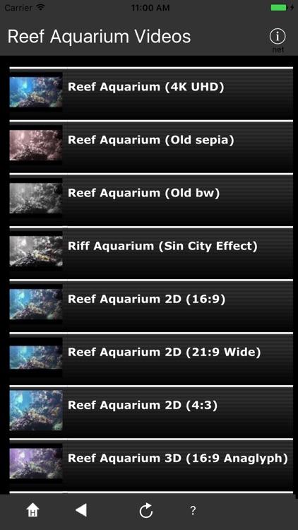 Reef Aquarium 2D/3D free screenshot-4