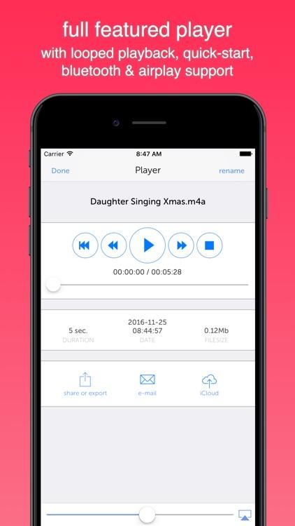 Instant Rec Lite: Audio Recorder & Voice Recording