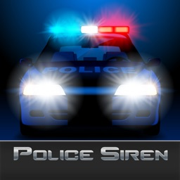 Police Siren - Flashing Lights and Sound Effects