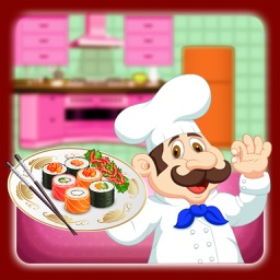 Little Chef Sushi Maker Kids Cooking: Boy & Girls