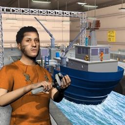 Cargo Ship Mechanic Simulator 3D: Workshop Garage