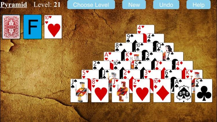 Pyramid Solitaire Game screenshot-4