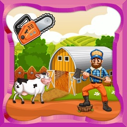Farmhouse Builder - Village Farm town Maker