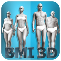 BMI 3D Pro (3D Body Mass Index calculator)
