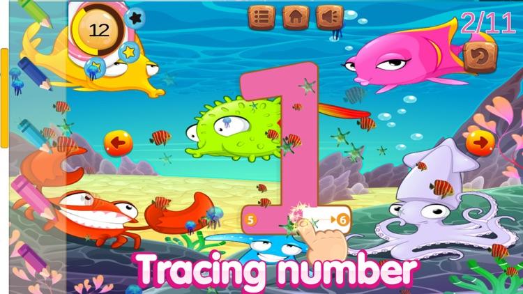 ABC tracing number alphabet 1st grade classroom screenshot-3