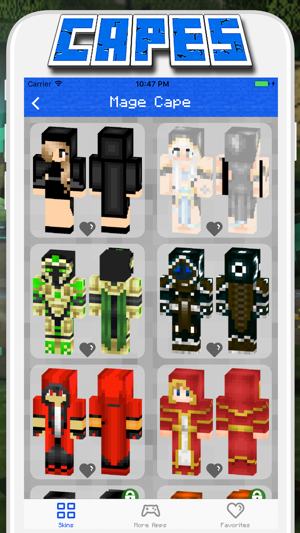 Cape Skins for Minecraft PE - Pocket Edition on the App Store