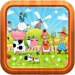 Farm Animals Puzzle For Toddlers
