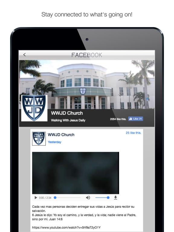Screenshot #2 for WWJD Church
