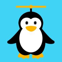 Air Penguin Fly: Flap Wings Flying Jump Adventure