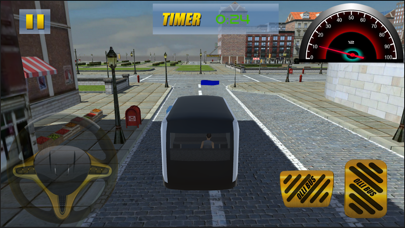 Down Town City Bus Driver: Transport Simulation 3D screenshot one